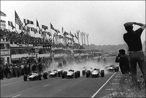 Старт Гран При Франции'67