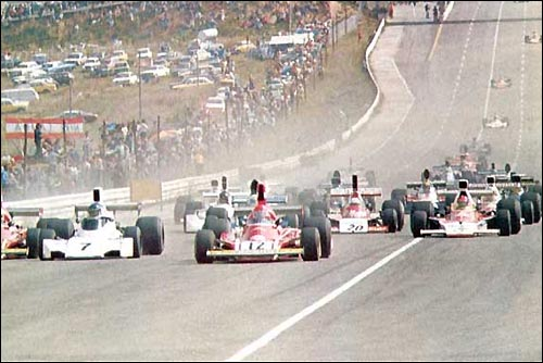 Старт Гран При Южной Африки'74