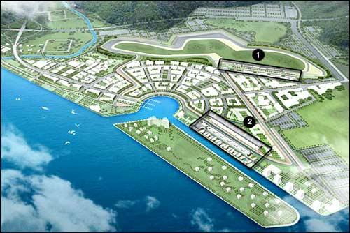 Проект южнокорейской трассы