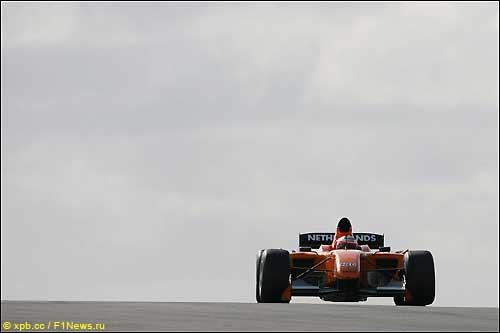 Донингтон-парк: гонка серии A1GP, 2008 год