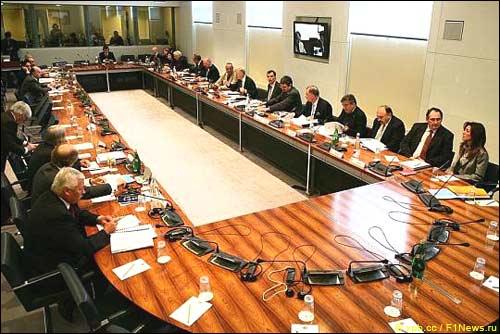 Зал заседаний в офисе FIA