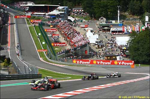 Гран При Бельгии 2009-го года