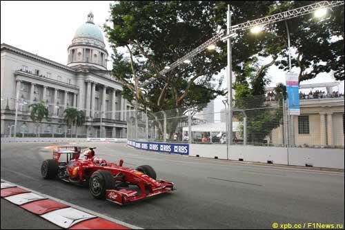 Сингапур. Кими Райкконен