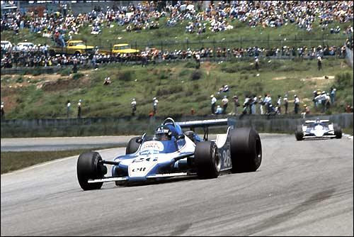 Жак Лаффит. Ligier JS11 Ford. Гран При Бразилии'79