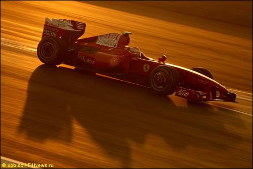 Кими Райкконен на трассе Гран При Абу-Даби