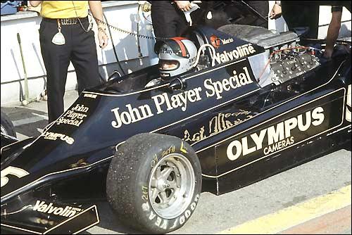Марио Андретти. Гран При Италии'78