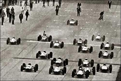 Старт Гран При Италии 1964 года