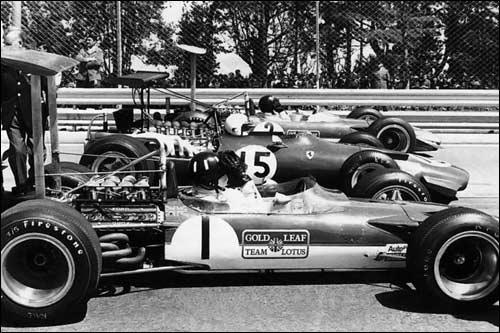 Всё готово к старту Гран при Испании 1969 года