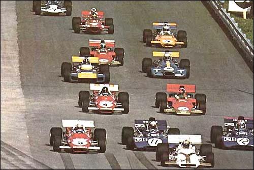 Старт Гран При Австрии'71