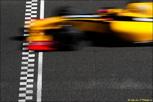 Renault на тестах в Хересе