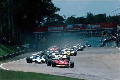 Старт Гран При Бразилии 1980 года