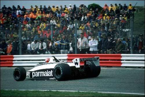 Победитель Гран При Голландии 1980 года Нельсон Пике