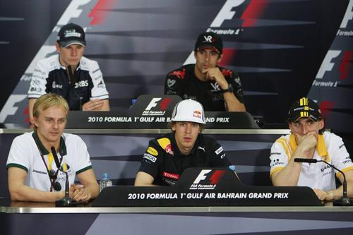 Гран При Бахрейна. Пресс-конференция в пятницу