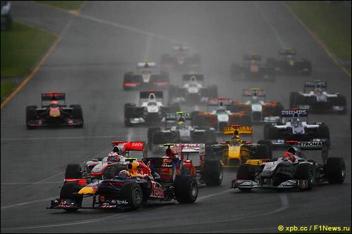 Старт Гран При Китая 2010