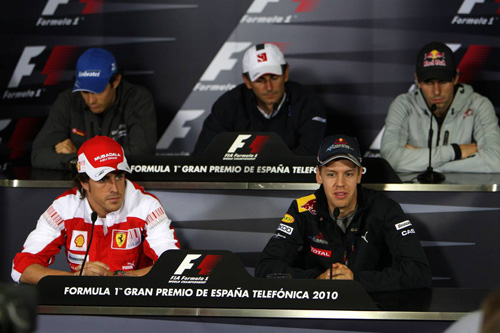 Гран При Испании. Пресс-конференция в четверг.