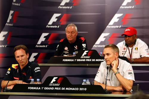 Гран При Монако. Пресс-конференция в четверг