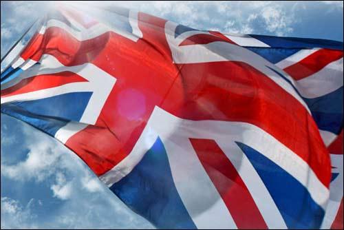 Сильверстоун. Флаг Великобритании