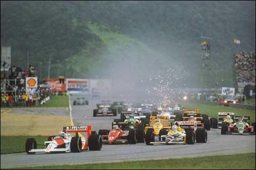 Старт Гран При Бразилии 1988 года
