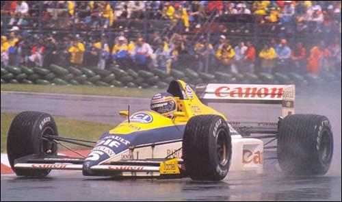 Победитель Гран При Канады 1989 года Тьерри Бутсен