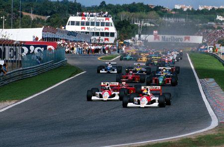 Старт Гран При Португалии 1990 года