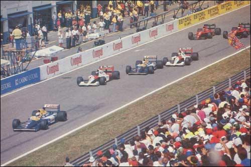 Старт Гран При Португалии 1991 года