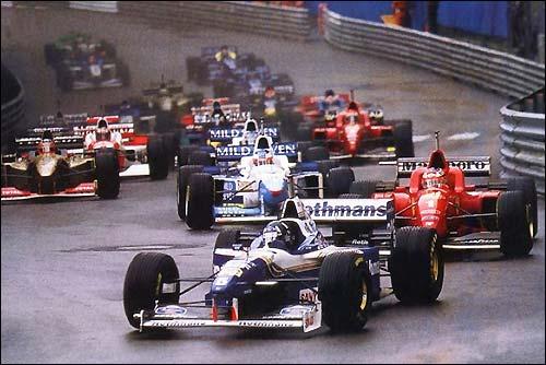 Старт Гран При Монако 1996 года