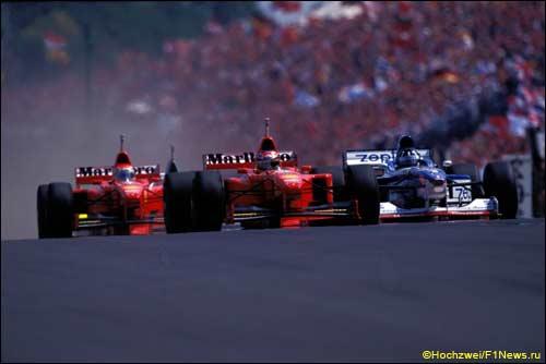 Старт Гран При Венгрии 1997 года