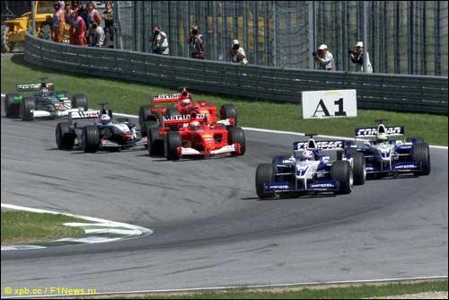 Старт Гран При Австрии 2001 года