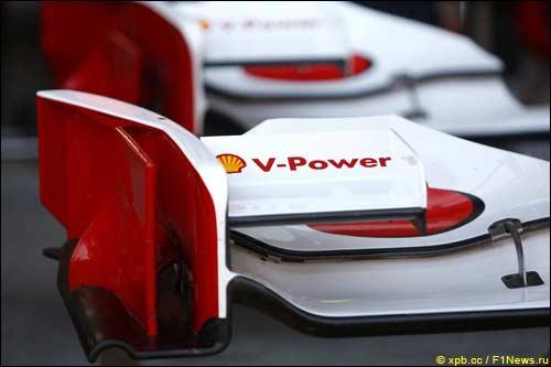 Переднее крыло Ferrari F10