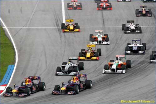 Старт Гран При Малайзии