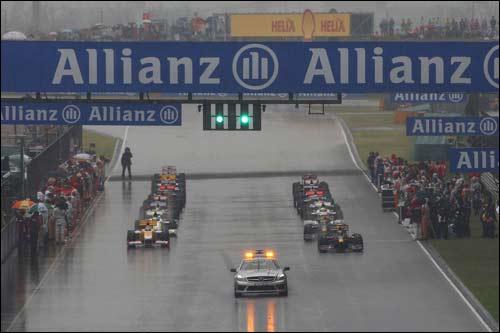 Старт Гран При Китая'09