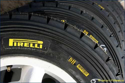 Сейчас Pirelli является официальным поставщиком WRC