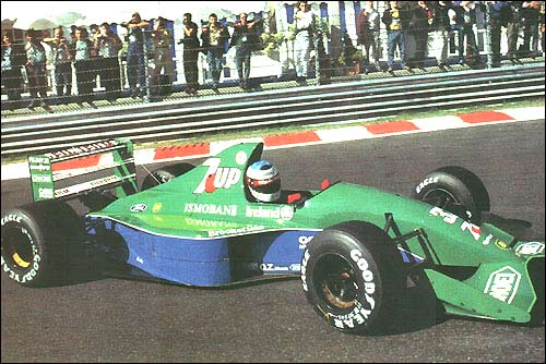 Михаэль Шумахер. Гран При Бельгии 1991 года