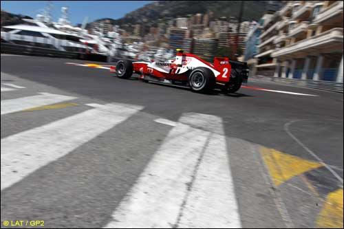 C'v Бёрд на трассе в Монако