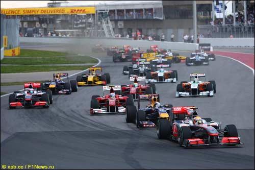Старт Гран При Канады