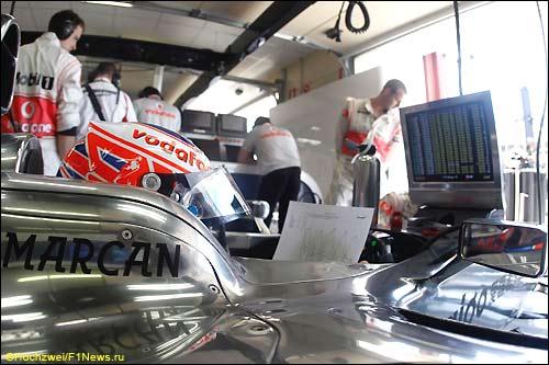 McLaren. Дженсон Баттон