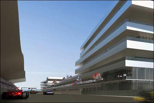 Трасса Гран При Индии, компьютерная графика