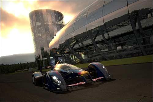 Уникальная гоночная машина X1