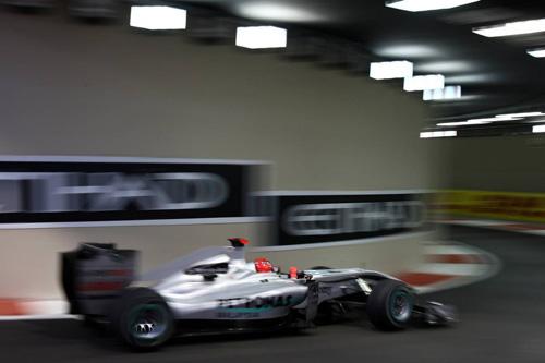 Гран При Абу Даби. Михаэль Шумахер