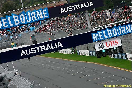 Стартовое поле Гран при Австралии