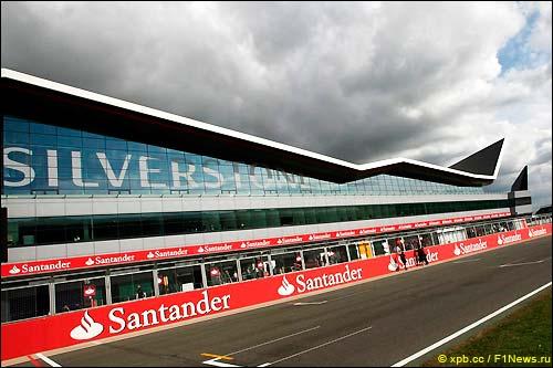 Стартовое поле Гран При Великобритании