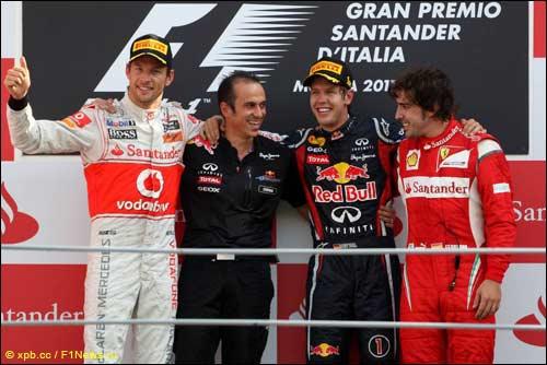 Подиум Гран При Италии
