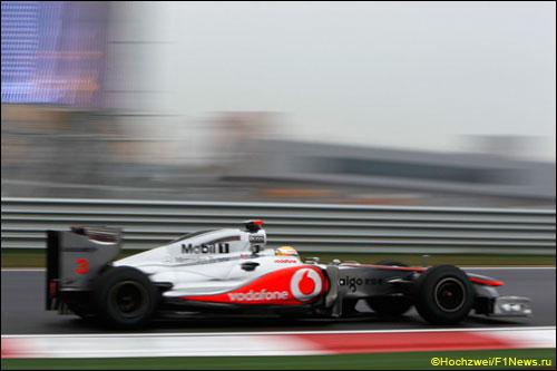 Дженсон Баттон на трассе Гран При Кореи