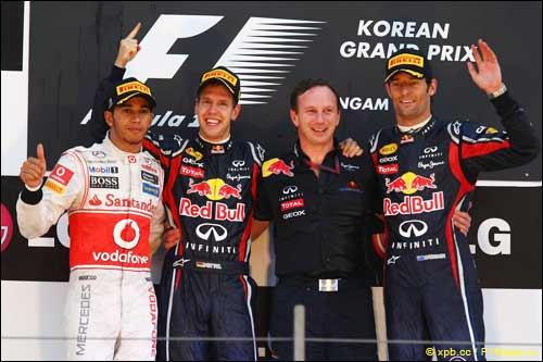 Подиум Гран При Кореи