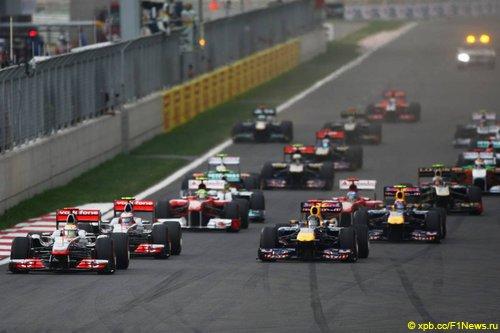 Старт Гран При Кореи 2011