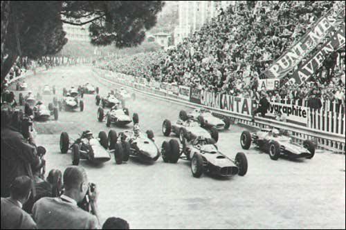 Старт Гран При Монако 1962 года