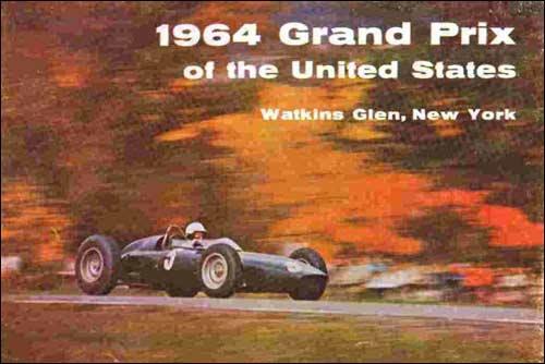 Официальный плакат Гран При США 1964 года