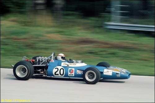 Победитель Гран При Италии 1969 года Джеки Стюарт