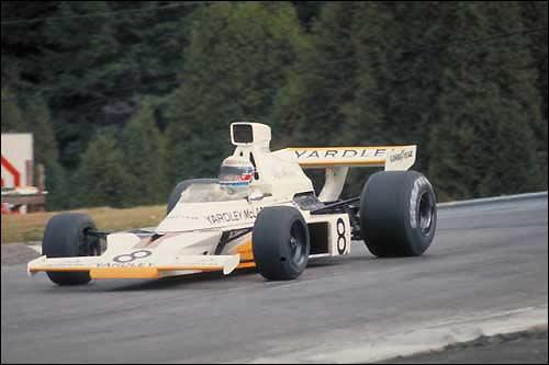 Победитель Гран При Канады 1973 года Питер Ревсон