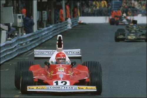 Победитель Гран При Монако 1975 года Ники Лауда